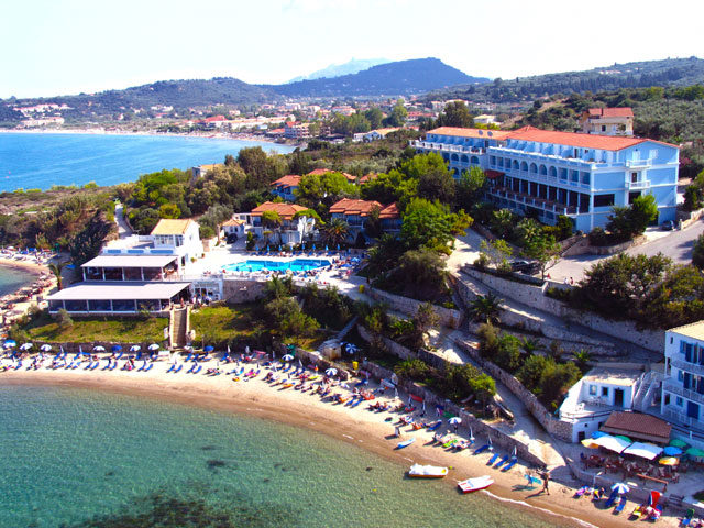 ALEXANDRA BEACH HOTEL &  BUNGALOWS 3*** IN  TSILIVI