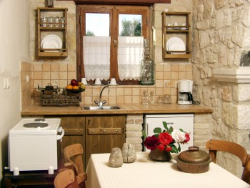 AGIOS SOSTIS Picture of the Kitchen CLICK TO ENLARGE