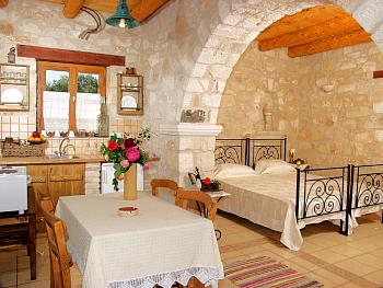 AGIOS SOSTIS Photo of the Kitchen and the Bedroom CLICK TO ENLARGE