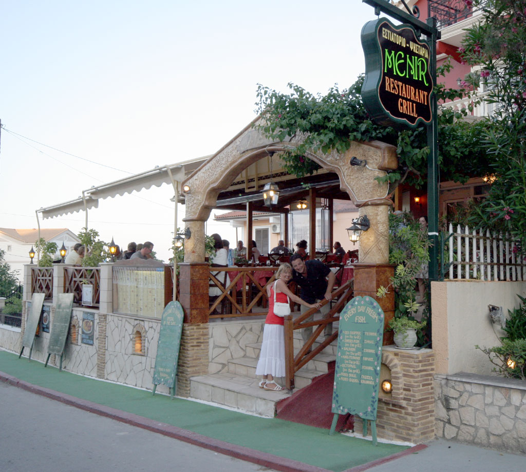 MENIR RESTAURANT IN  TSILIVI