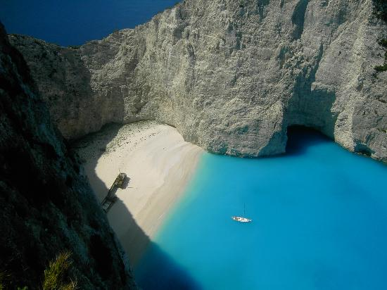 The Ionian Islands are splendid, cinematic paradise. The waters are bluest blue, the sands are achingly silky and smooth. Everything looks heavily Photoshopped. But that's just Mother Nature, in all her unspoiled glory. Zakynthos is the largest of the Ionian Islands, and it's as fruitful as it is be...